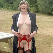 Gilf Ann teasing and pleasing you viewers