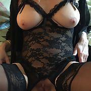 Hot Wife in new outfits for your pleasure please comment