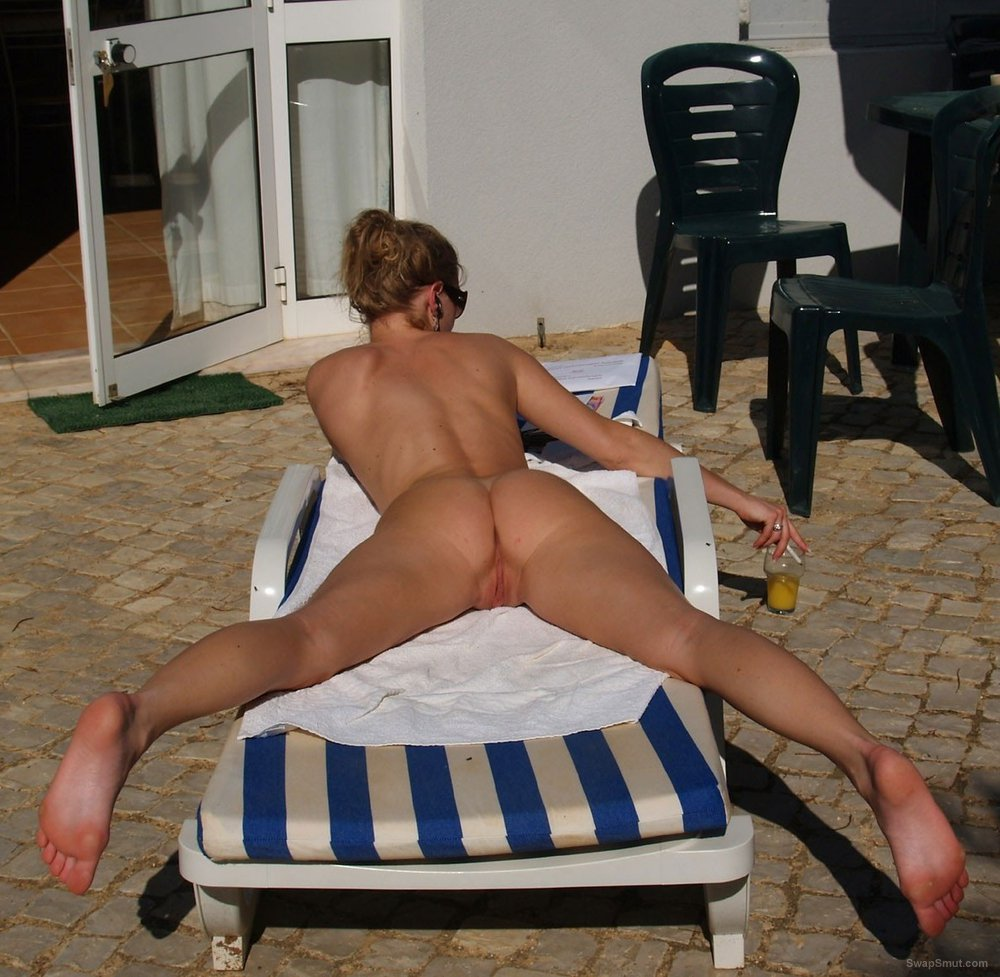newly weds naturist couple nude in public photos of wife