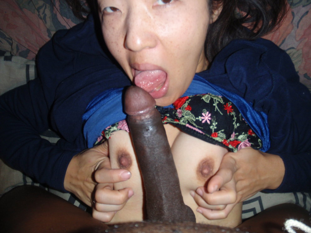 Japanese Slutty Kazumi loves playing arund wit my cock while she fingers herself