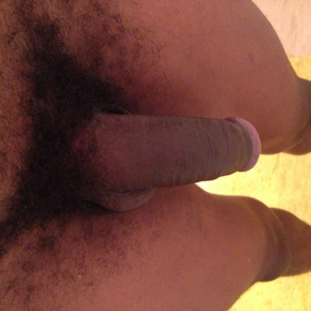 Back again after a while away, my average size cock
