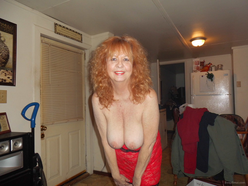 61 year old wife loves to show her privates