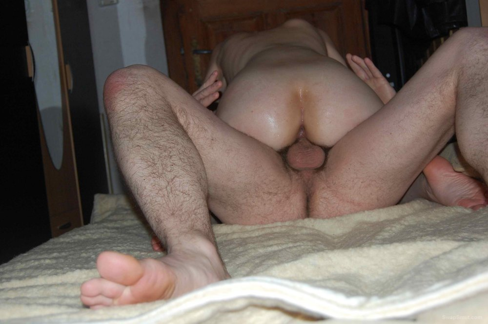 Shared wife double penetrated by friend and I at our home
