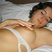 Lovely horny brunette amateur exposed I