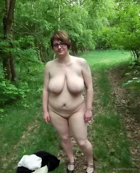 Just me outdoors and with hubby and sucking cock indoors