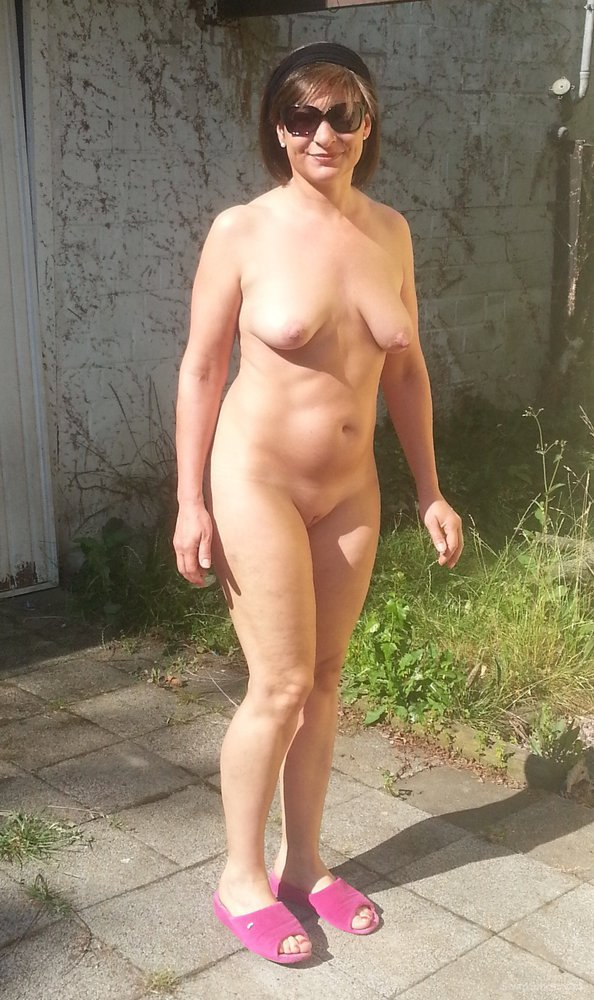 You will Naked in the backyard