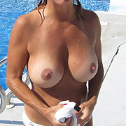 Pictures Of My Big Tits While Topless