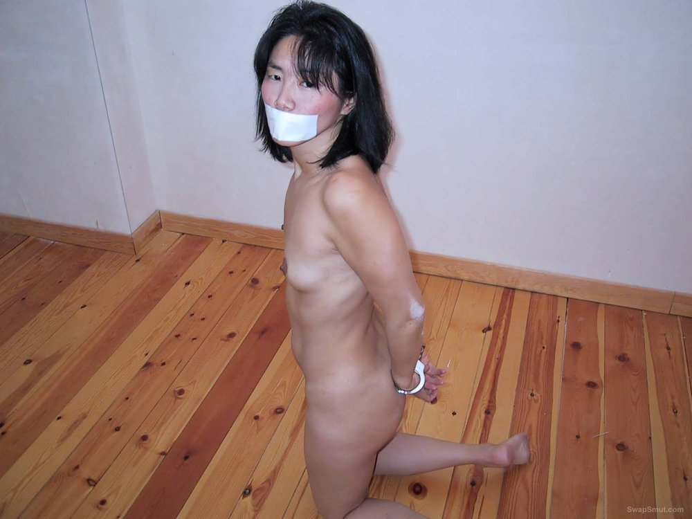 Bondage porn little hottie hope you enjoy Asian woman tied up and gag