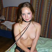 Submissive hot wife ready to please house guests