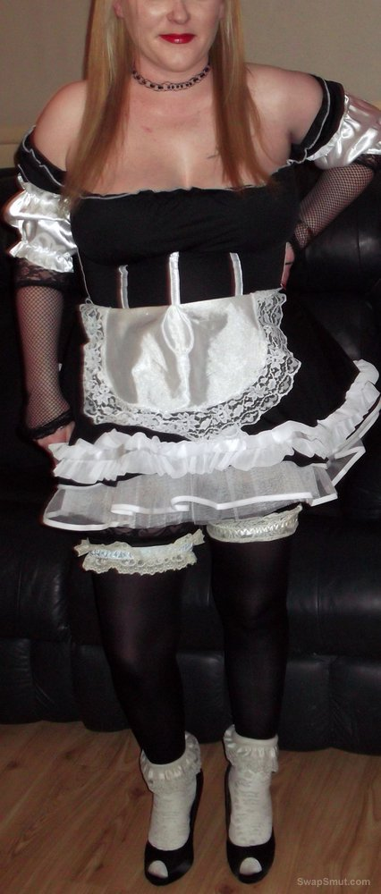 Not tell Wife french maid costume