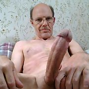 BIG White Cock Ready For Play, Do YOU Want it