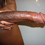 My big hard black dick ready to slide me in your pussy