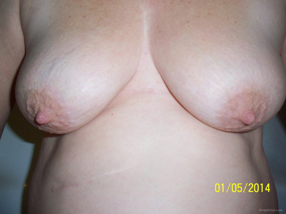 Big tits mature lady with cock in her mouth