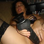 This 51 year old Hot Wife's fantasy is to fuck a real BIG BLACK COCK