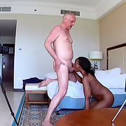 Interracial Porn Casting Action