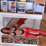 German mature fucking slut with name tone in lingerie