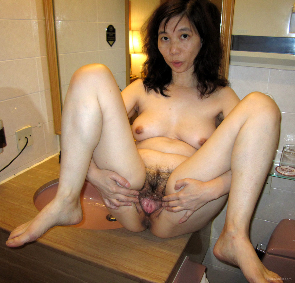 Gorgeous Pink Hairy Cunt Asian Amateur