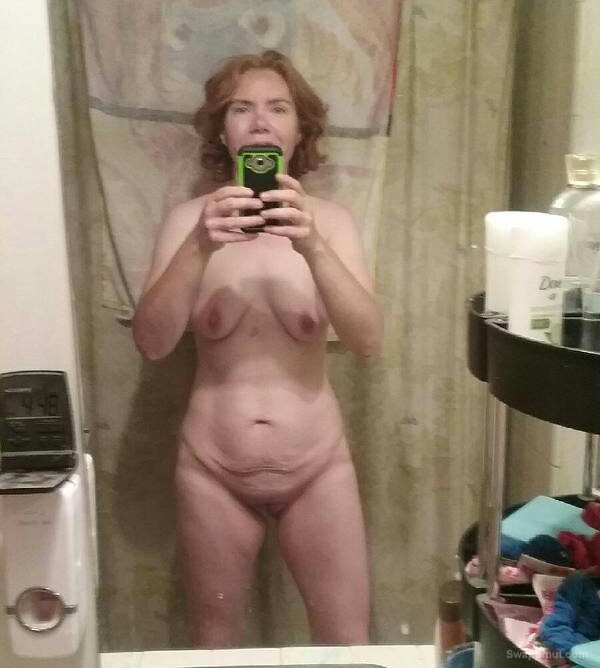 Mrs Malone Selfies Sent To Hubby
