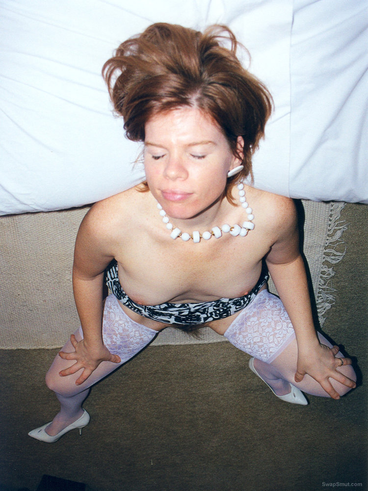 White Stockings Hot Pink Delicious Hairy Cunt Photos