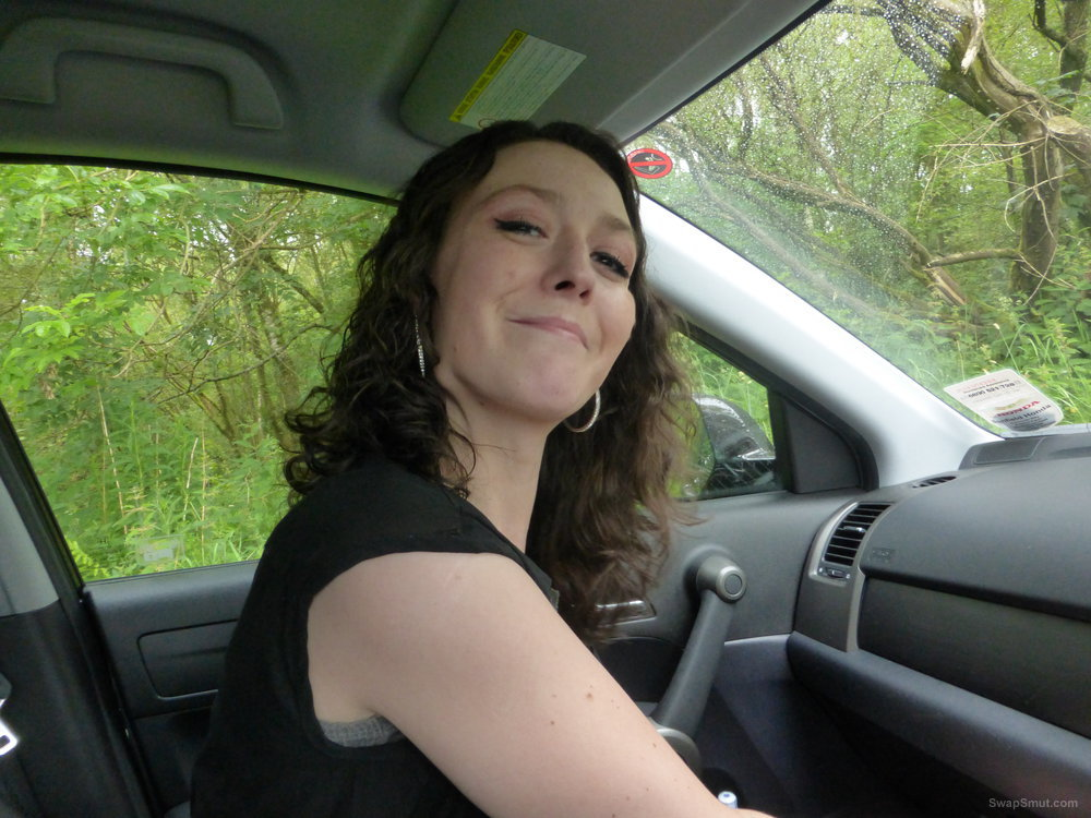 Some more naughty fun with Sam when driving home from the pub