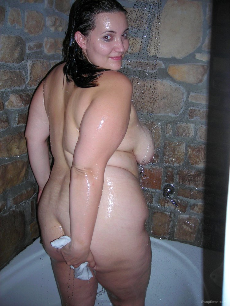 Having A Little Fun In The Tub BBW Homemade Amateur Porn Photos