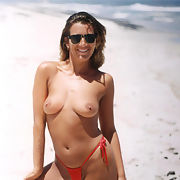 Topless on a deserted beach is just the start