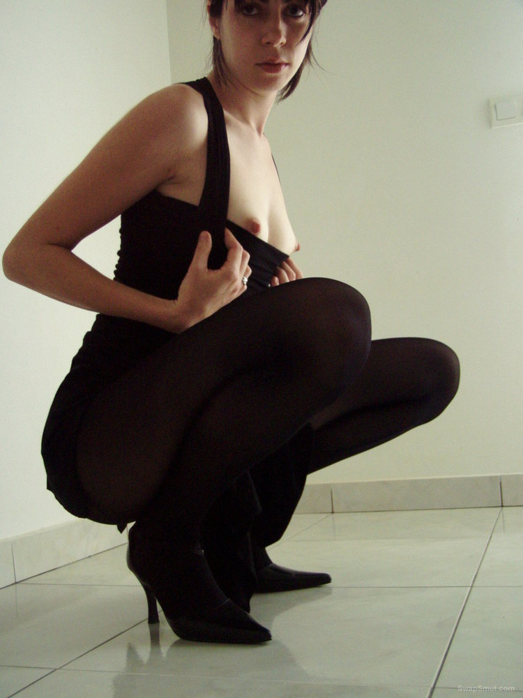 Hot and horny wife having some fun posing and dressing up