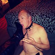 Mistress Julie exposes her female bitch Richard as a sissy faggot