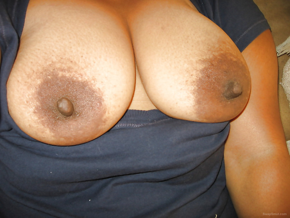 My wife is always horny and wet she loves having big tits sucked