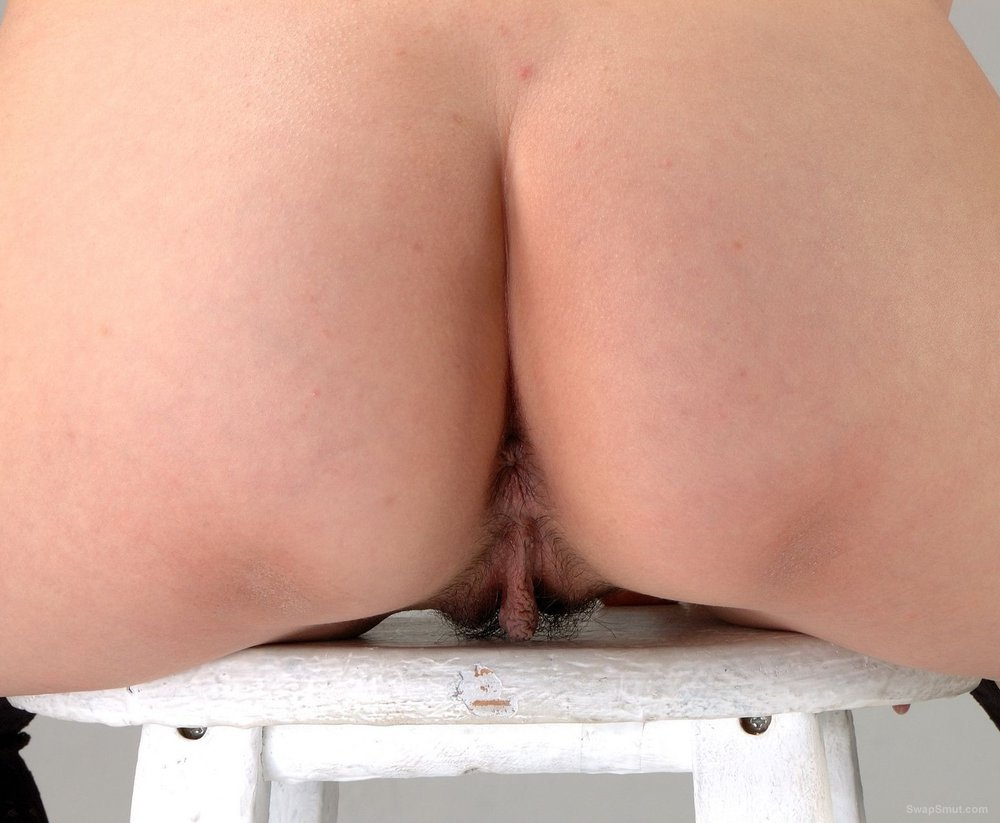 Chinese Hairy Pussy and Arse Close up Shots Of Her Crotch