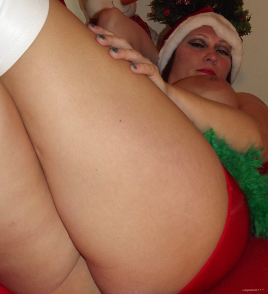 My old friend RONNIE returns posing as santa horny helper for you