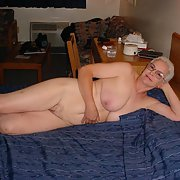 A Very Hot Granny from New England Posing For Some Pictures