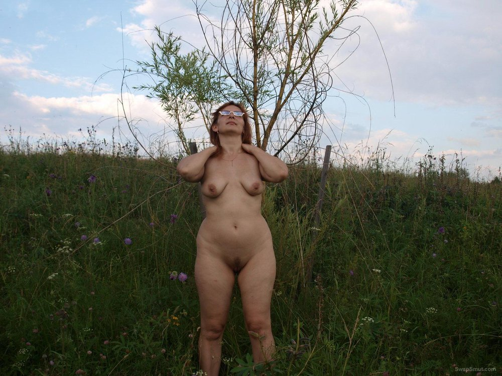 We have a rest in the summer on the nature public amateur nudity