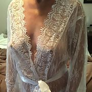 Beautiful white lace, petite hot body Hotwife