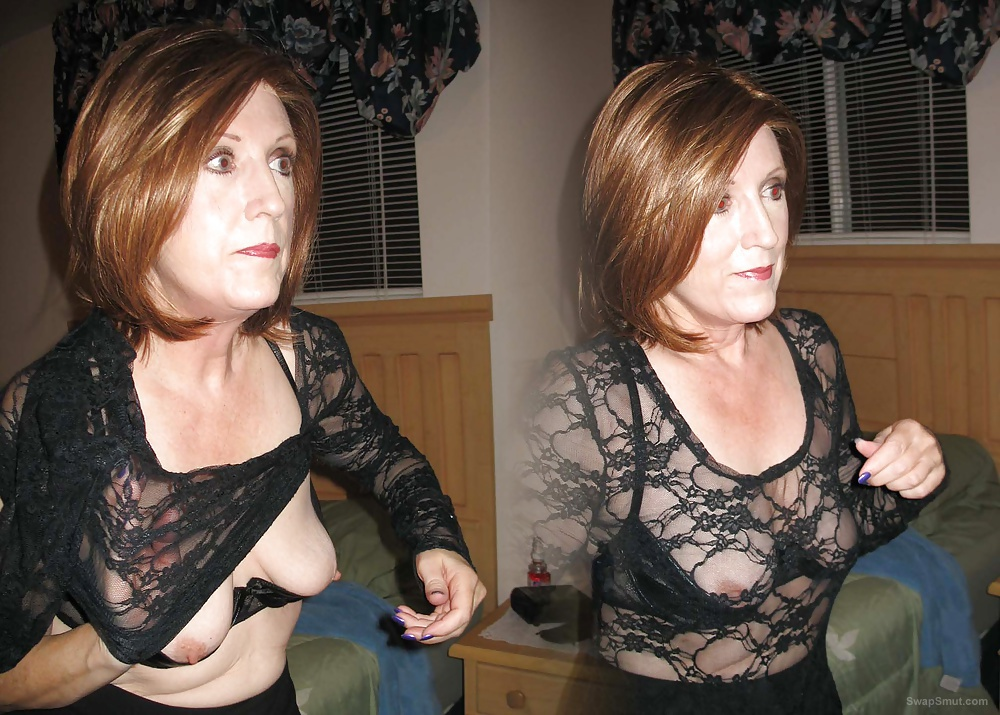 Theresa and her Double Image Flashing For You