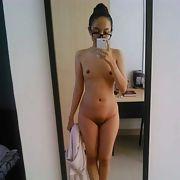 Muslim hijabi girl showing off her sexy body
