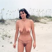 Slut Wife Nude In Public On a Beach exposing herself outdoors naked for all to see