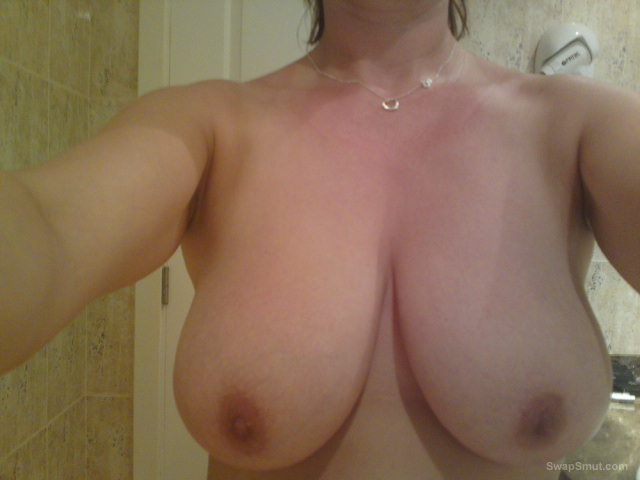 My wifes big breasts