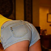 Asian MILF looking for a good fuck sexy ass in hot jean pants
