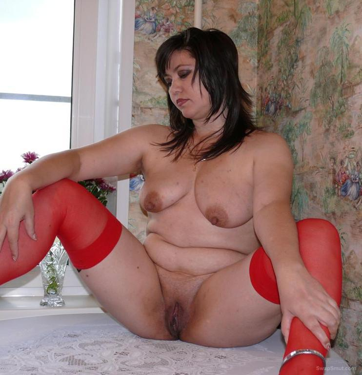 Red stockings whore sexy amateur porn photos