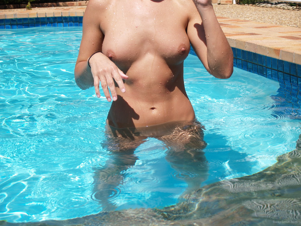 Pool side nude photos husband finally convinced me to share photos