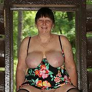 Roberta, still the neighborhood whore next door
