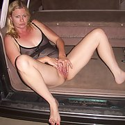 Horny Exhibitionist Wife Naked in Public