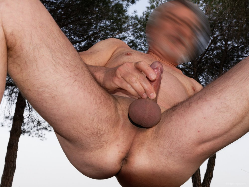 Naked in nature and ready to be fucked