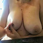 My wife's big tits and wet cunt