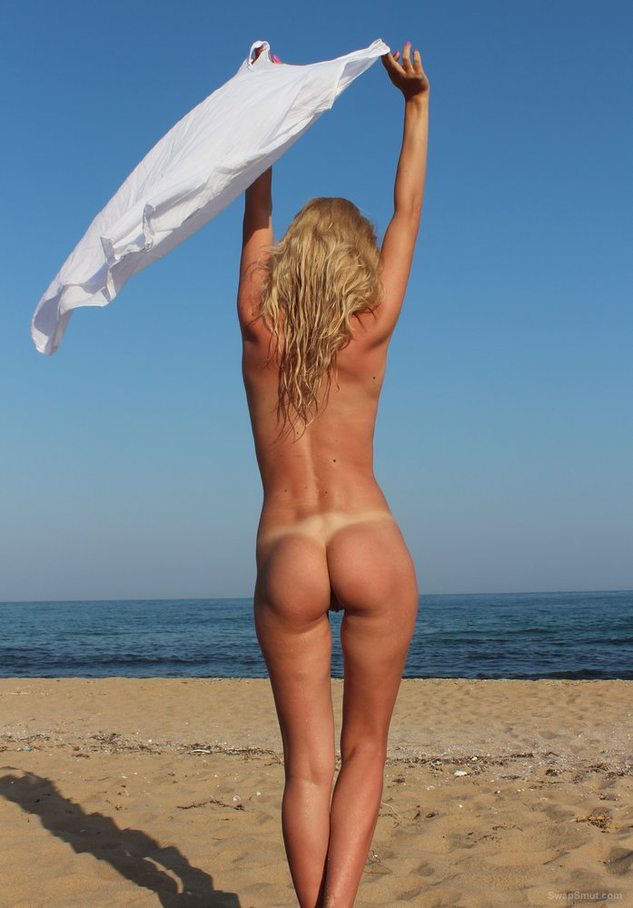 On the beach, nice ass, legs, strip, private