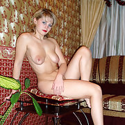 Oksana Poses Naked and is Always Happy to Oblige