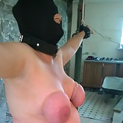Comments wanted for this fat old gimp bound and restrained