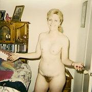 My Milf blonde sexy wife slut showing all