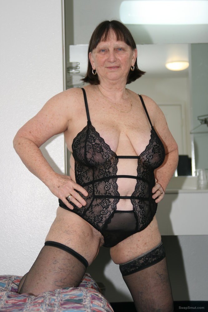 Roberta, still the local whore who loves all the BBC she can get